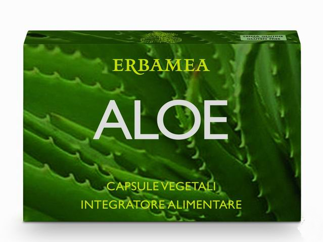 Aloe Vera capsule vegetali
