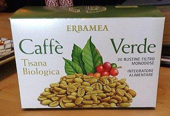 caffe verde tisana biologica