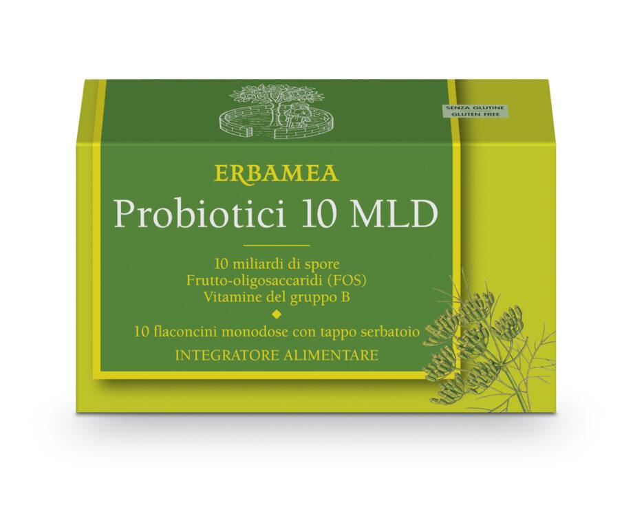 probiotici mld 10 flaconcini